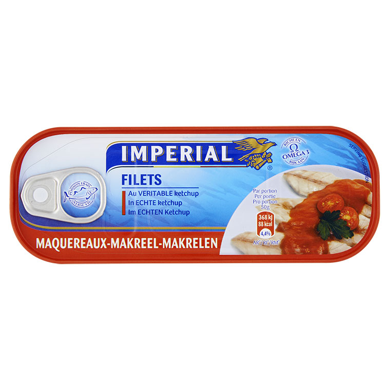 Makreel Filets in Echte Ketchup