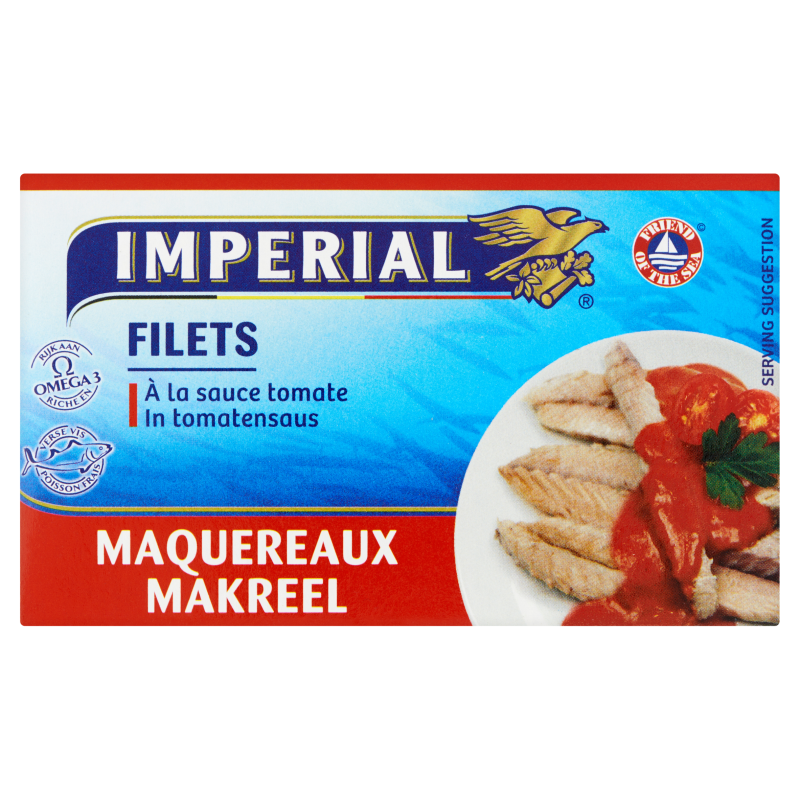 Makreelfilets in Tomatensaus