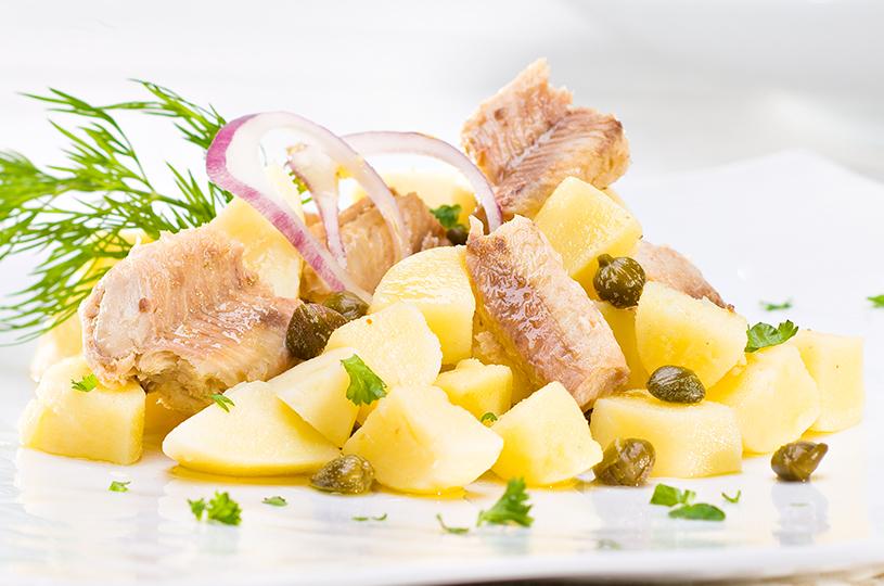 salade sardine pomme de terre
