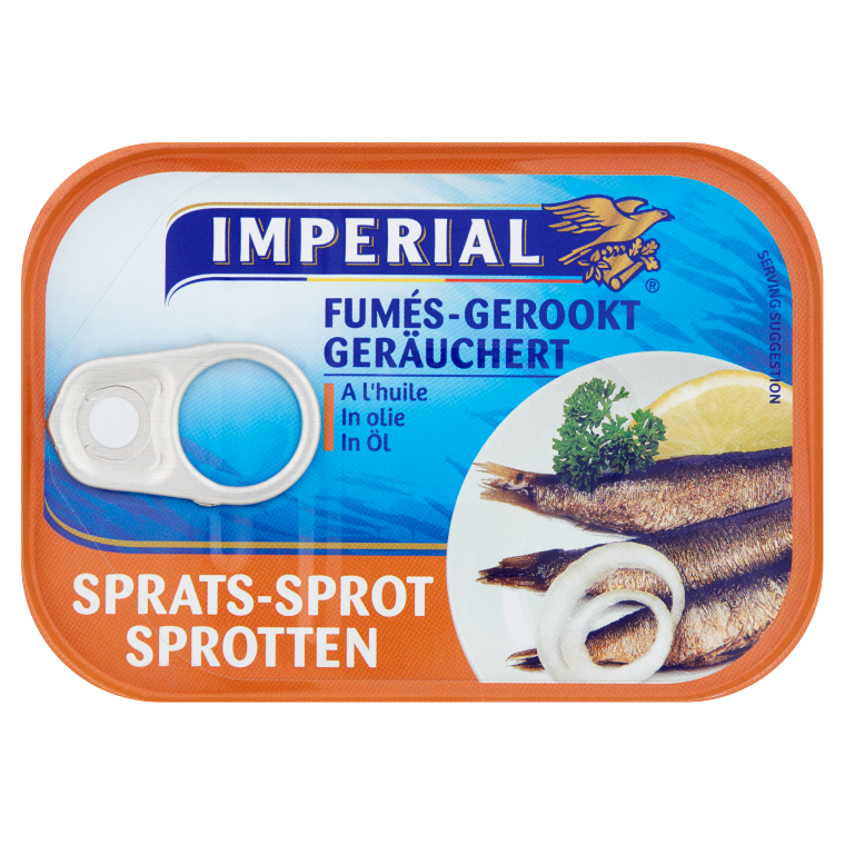 Sprot Gerookt in Olie